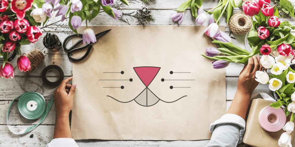 influencer logo brand word of mice
