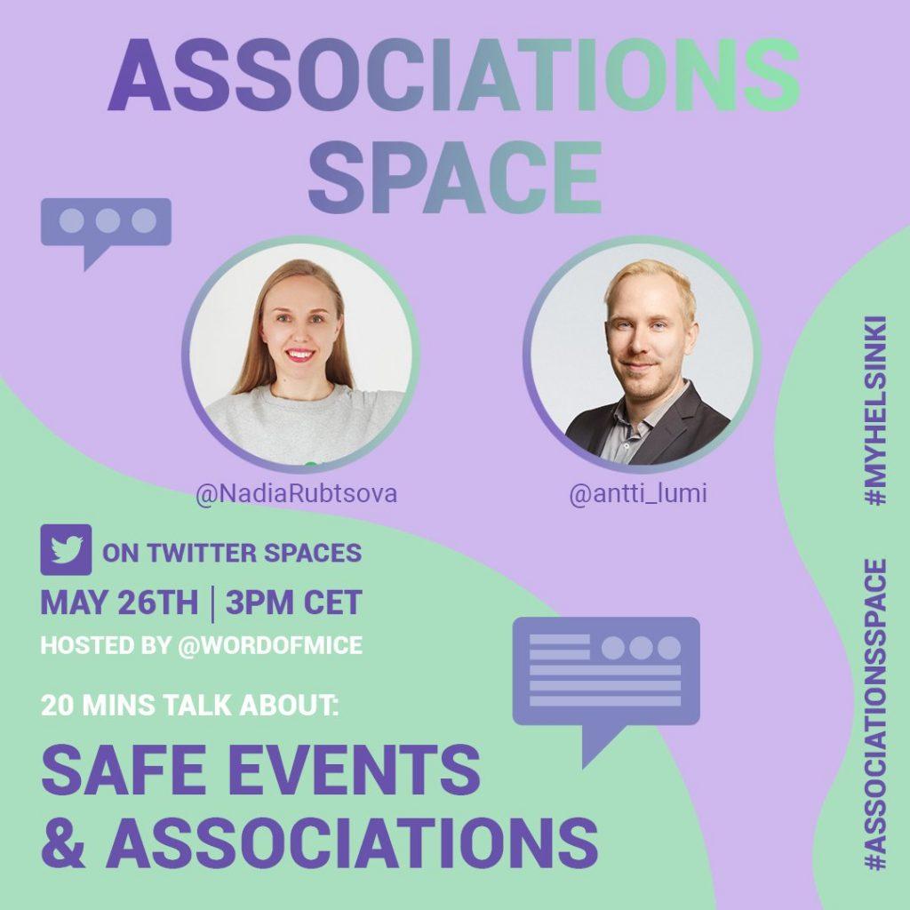 01-associations-my-helsinki-destination-marketing-twitter-spaces-Antti Lumiainen-MICE-eventprofs